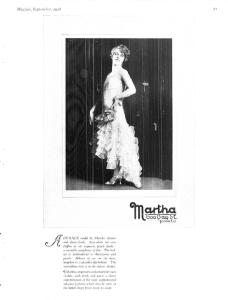 MARTHA  MAYFAIR SEPT 1928