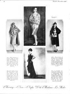 MARTHA MAYFAIR DEC 1928