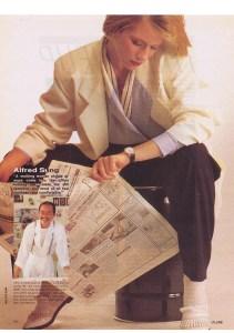 ALFRED SUNG FLARE  NOV 1984