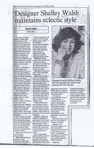 SHELLY WALSH TORONTO STAR  22 08 1985