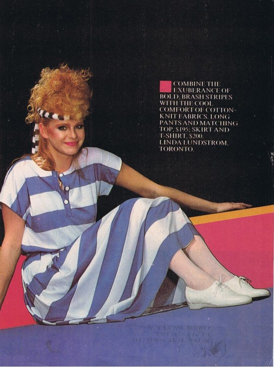 LINDA LUNDSTROM HOMEMAKERS APRIL 1982