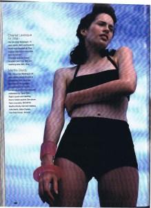 CHANTAL LEVESQUE / SHAN FLARE MAY 1998
