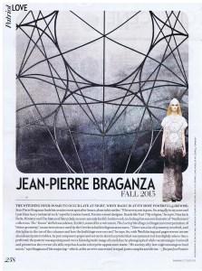 JEAN-PIERRE BRAGANZA FASHION  OCTOBER 2013