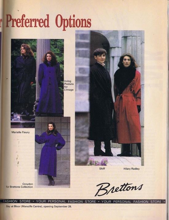 MARIELLE FLEURY FLARE SEPTEMBER 1989