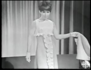MARIELLE FLEURY CBC TV May 19, 1966