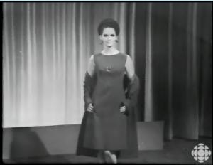 MICHELE ROBICHAUD  CBC TV May 19, 1966