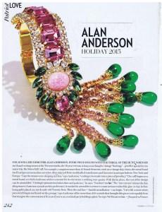 ALAN ANDERSON FASHION  WINTER 2014