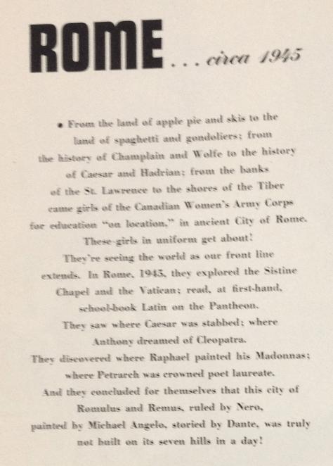 ROME 1945 MAYFAIR JANUARY 1945 4