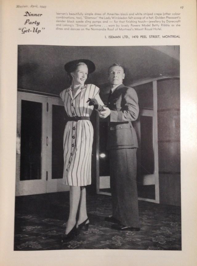 iseman amertex (cndn) mayfair april 1945