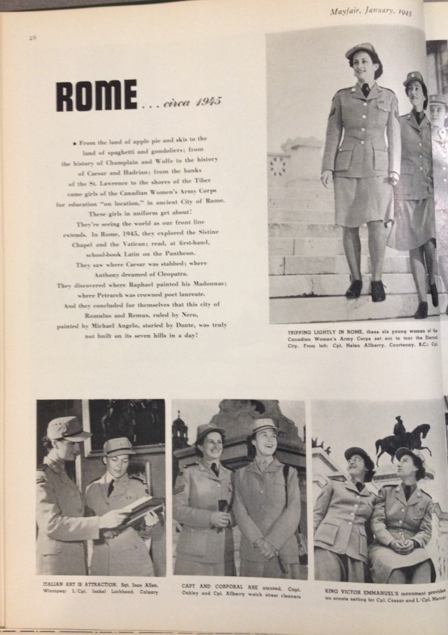 uniforms mayfair january 1945 1