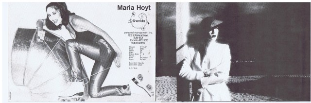 SHERRIDA MARIA HOYT 1982