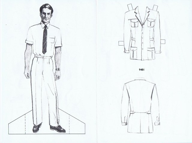 HUGH GARBER  UNIFORMS REGISTERED 1983 5/6 HGA