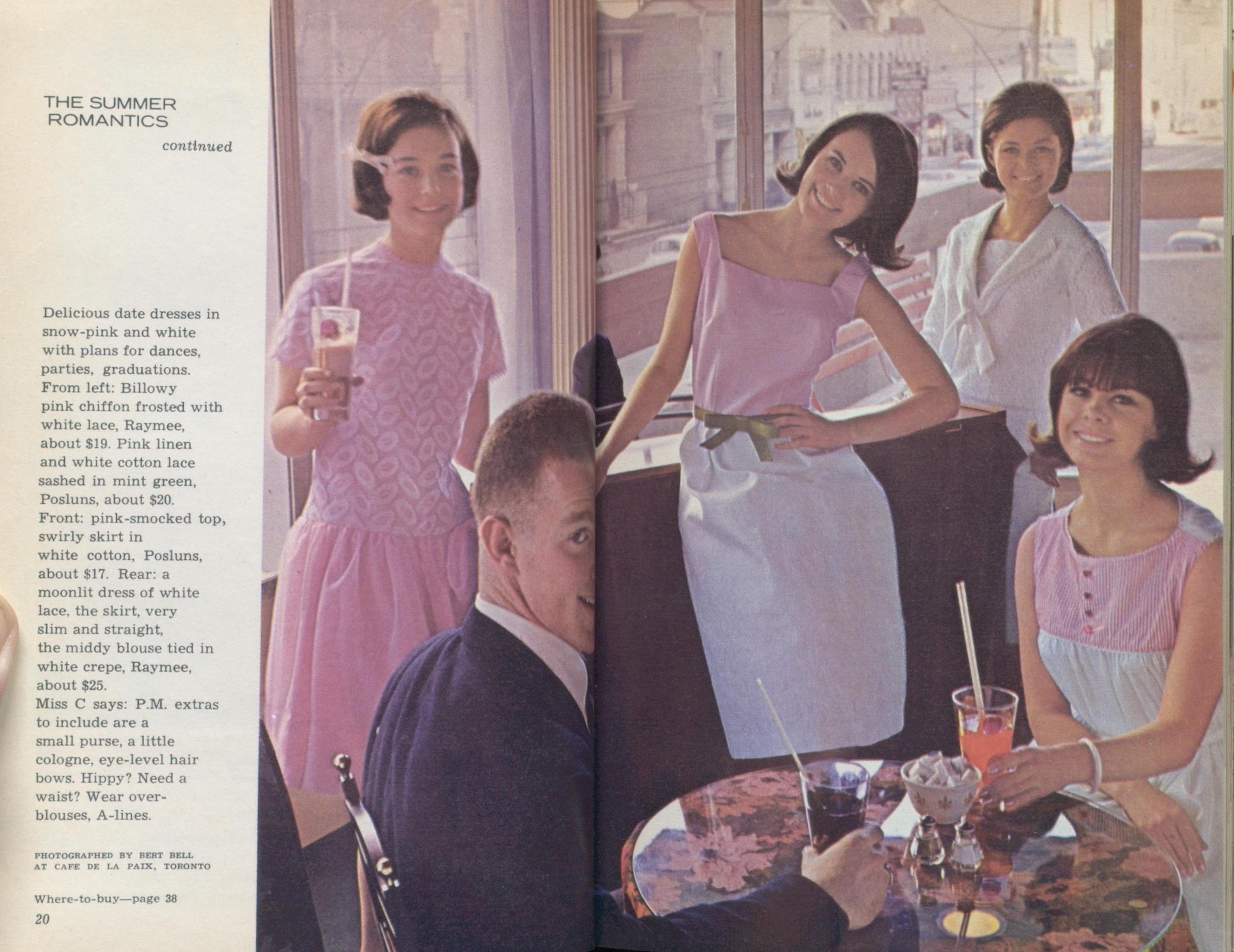 c9abec616340 105. 1964 Miss Chatelaine Volume 1 Number 1
