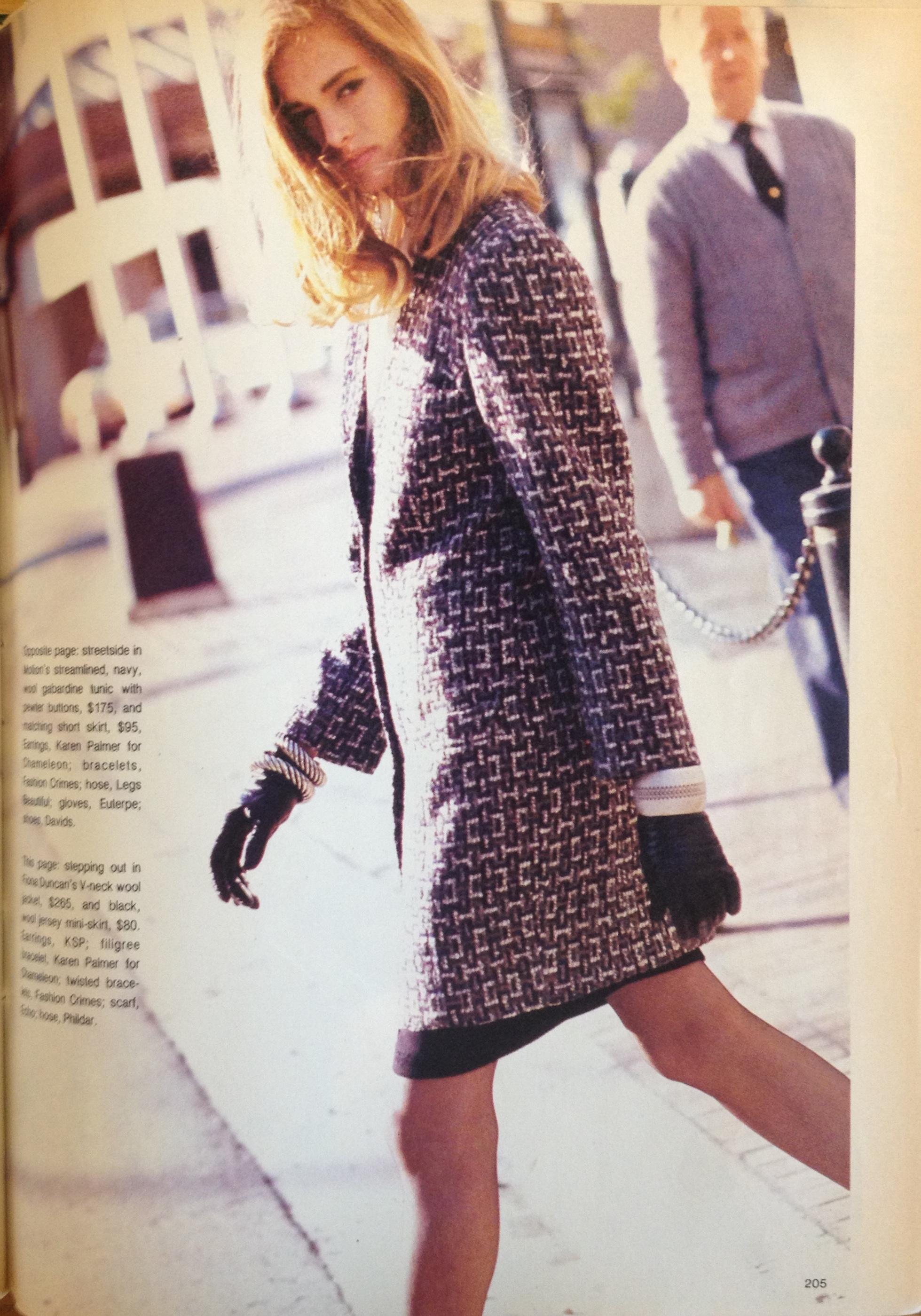Canada Fashion Magazine: 134. 1986 Canadian Designers