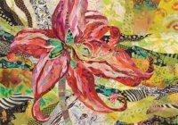 Colorful Collage Ideas Using Fabulous Fabrics - Cloth ...
