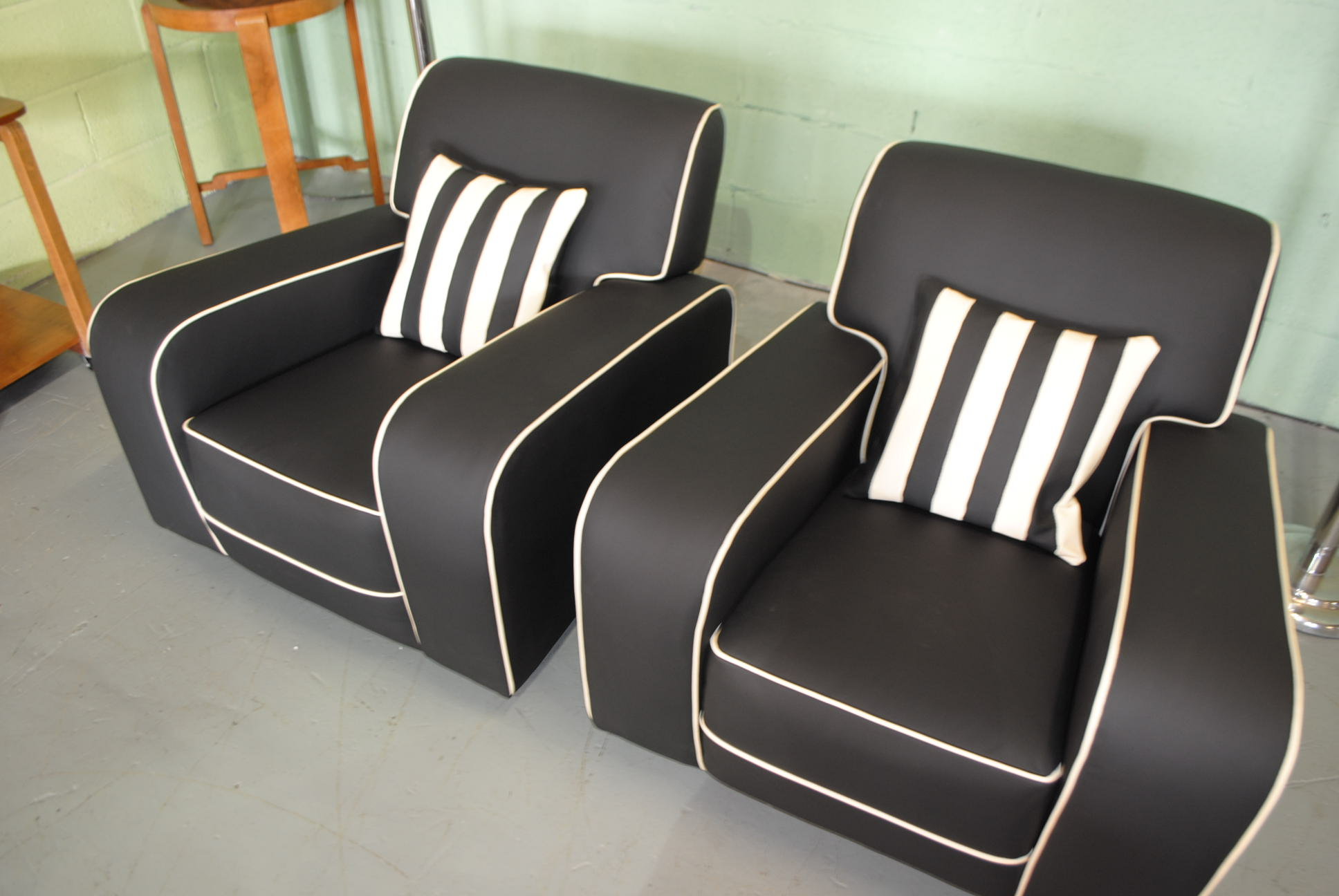 art deco kitchen chairs vanity with chair and mirror armchairs cloud 9 furniture sales