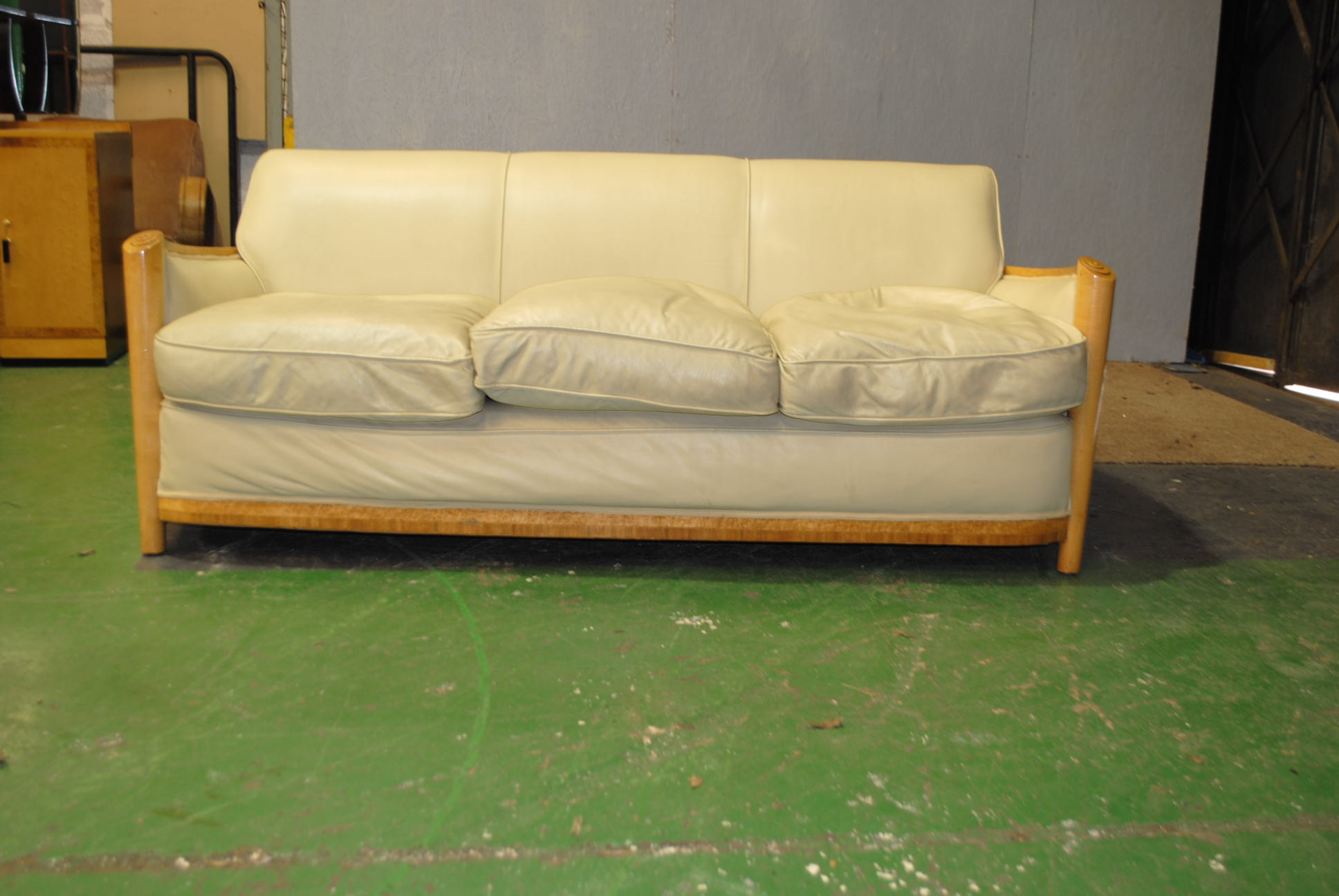cloud 9 sofa how to clean stains on suede sofas art deco maurice adams furniture