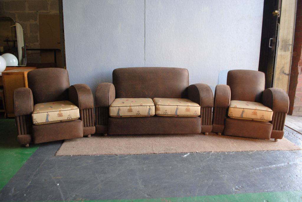 Leather Sofa Set Sale
