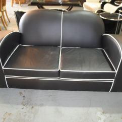 Cloud 9 Sofa Leather World Erdington Art Deco Furniture Sales