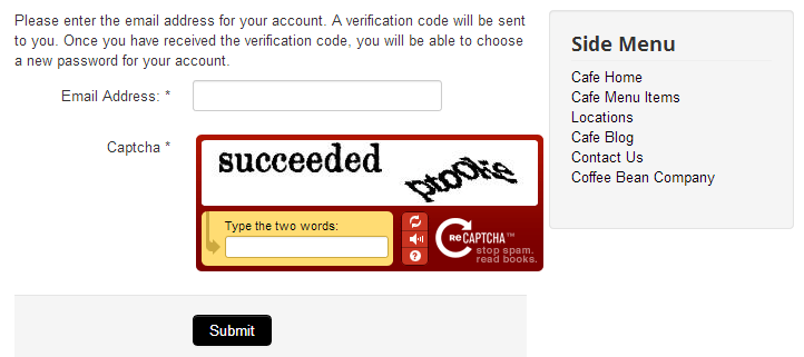 enabling captcha joomla 3