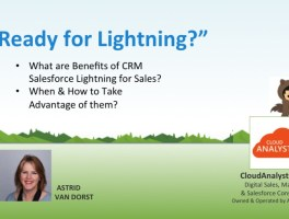 Salesforce Lightning Benefits – Video for Sales AEs & Managers