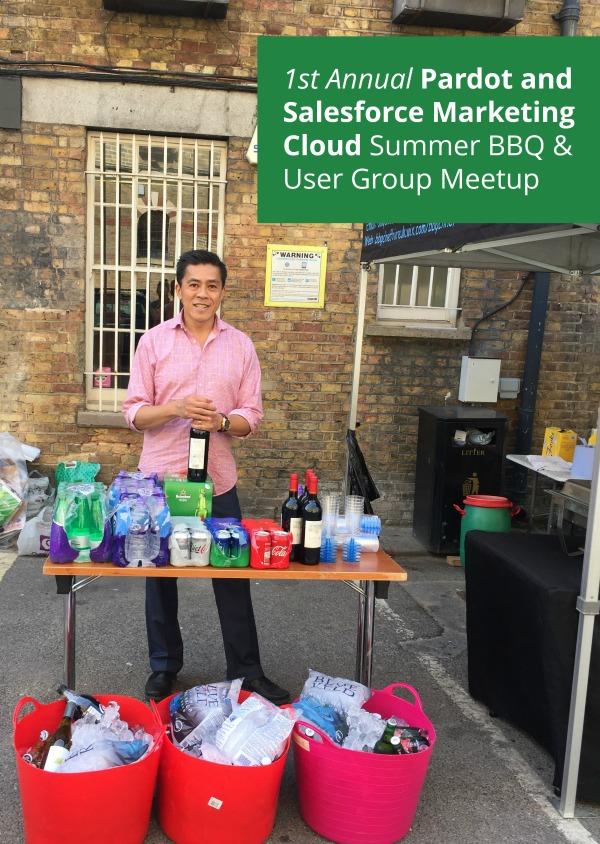 Marketing Cloud User Group London BBQ