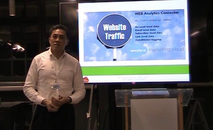 Jimson Lee on Integrating Google Analytics 360, Salesforce and Marketing Cloud