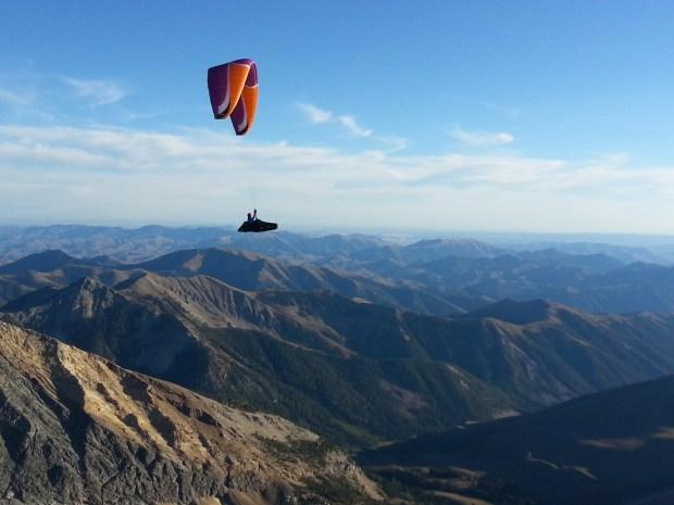 Matt soaring the Pioneers