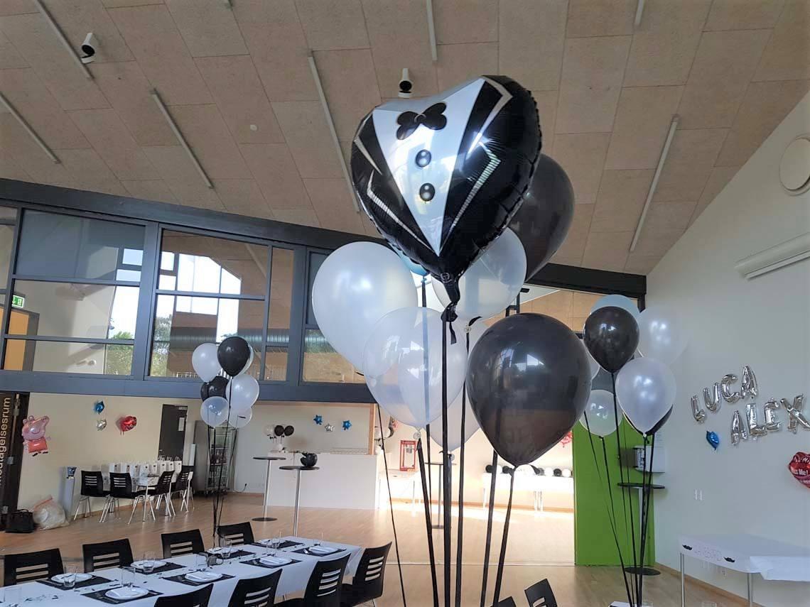 balloner til drenge barnedåb