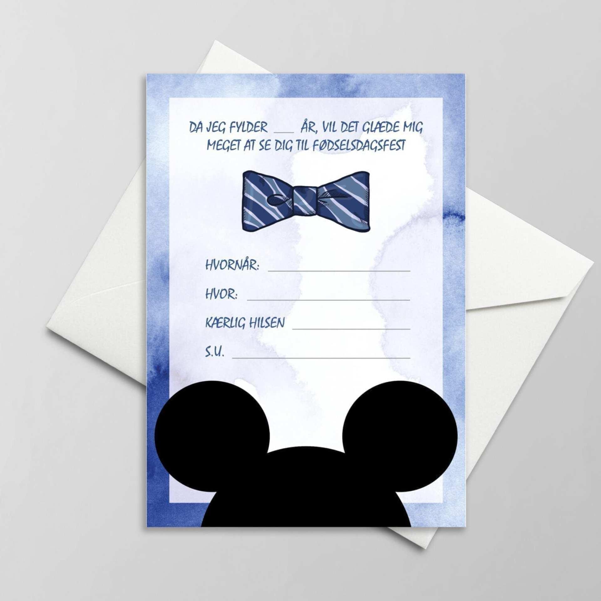 mickey mouse børnefødselsdag