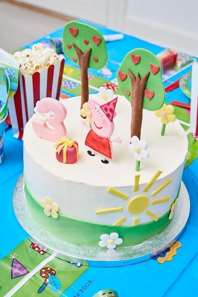 kage til børnefødselsdag