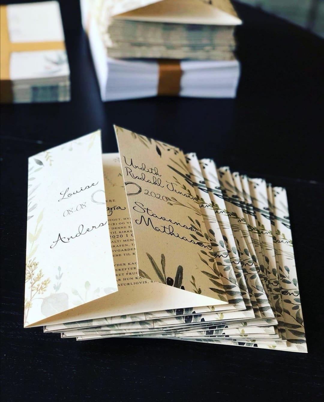 invitationer portefals eucalyptus