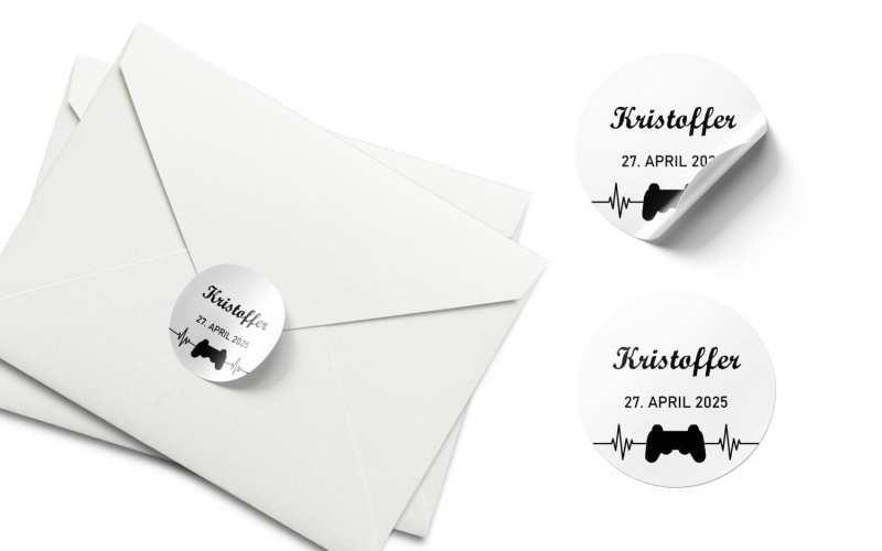 stickers konfirmation playstation