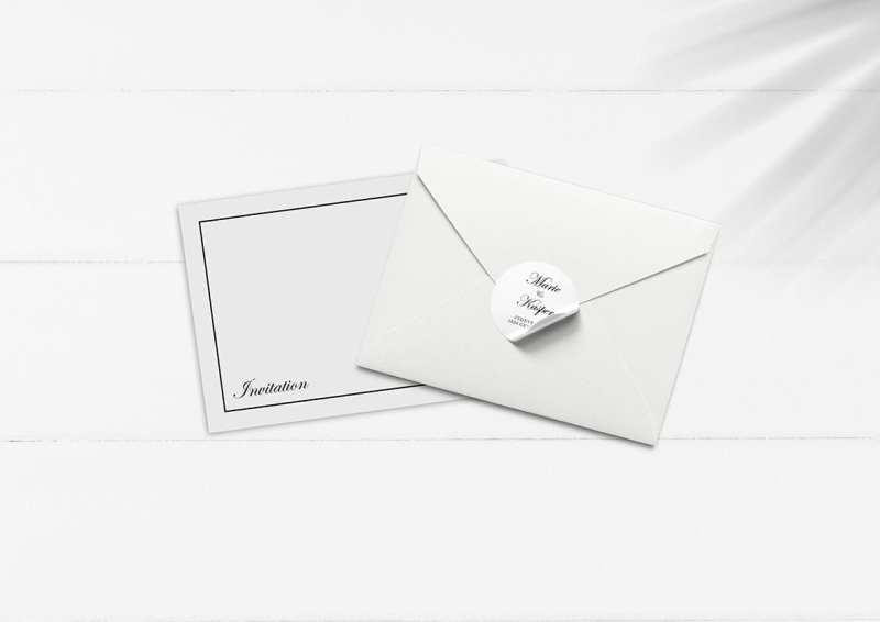 simpel kuvert