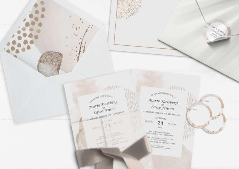 invitation moderns graphics lyse farver simpelt grafisk