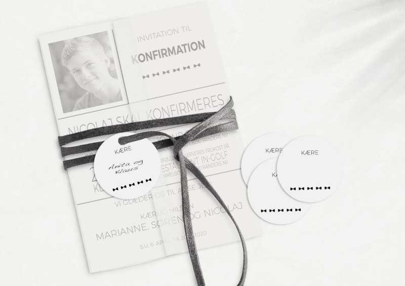 Box It, konfirmation, manillamærke
