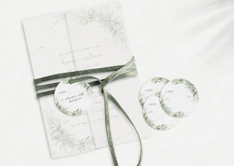 Green Beauty, konfirmation, manillamærke