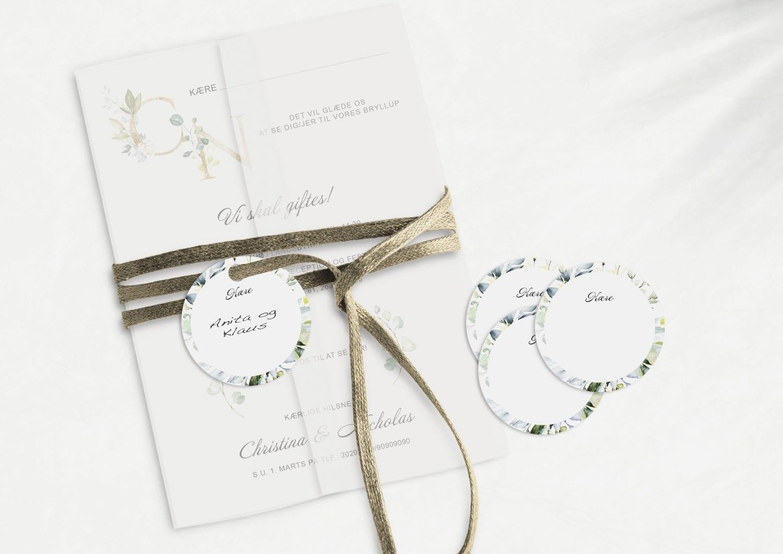 Greenery Fame, manillamærke, bryllup