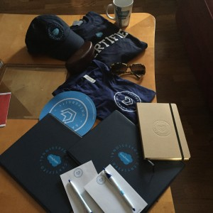 Salesforce University swag