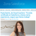 Paula Quirós habla de Cloud Coachers