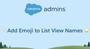 Emojis in Salesforce