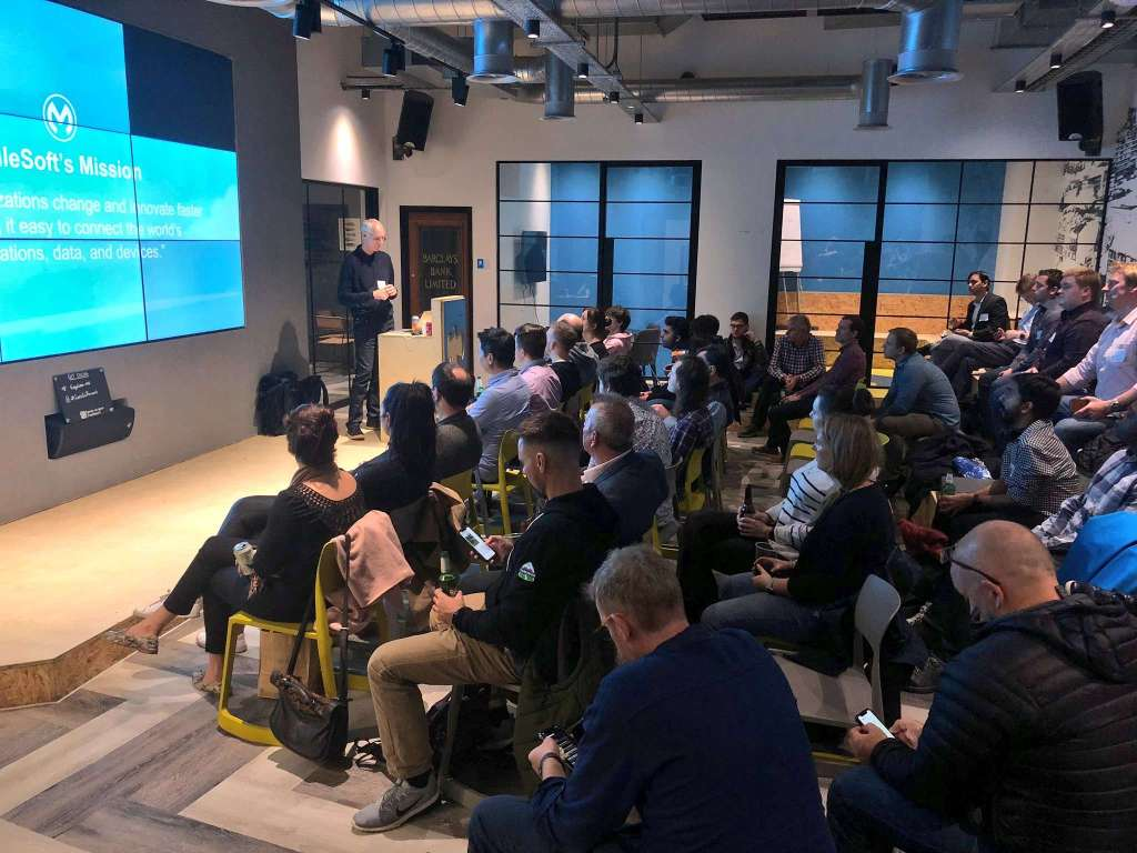 MuleSoft speaking at a User Developer Group
