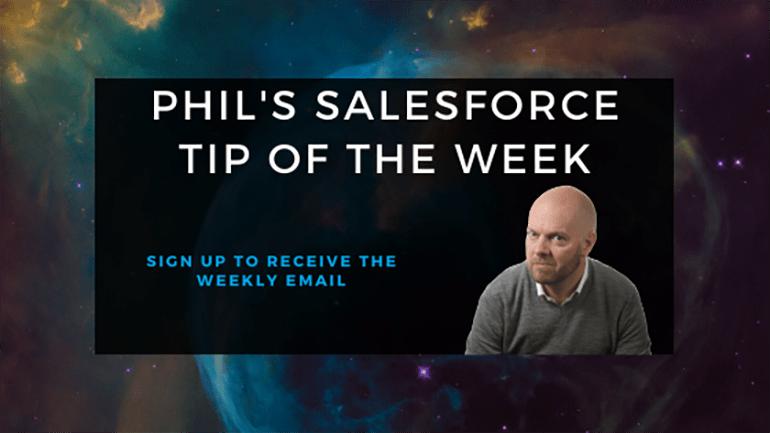 DF21 Schedule – Phil's Salesforce Tip of the Week #467