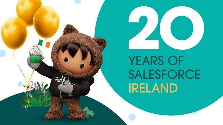 20 years of Salesforce Ireland