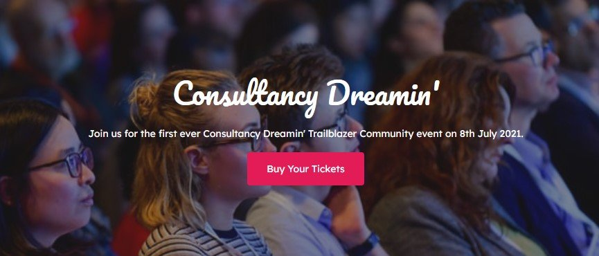 Consultancy Dreamin is Here…