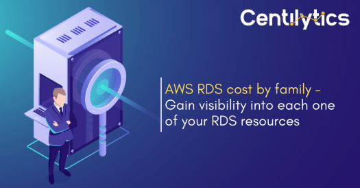 Why is it important to analyze AWS RDS cost by family?