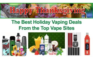Best Thanksgiving Vaping Sales - featured image