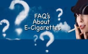FAQ's About E-Cigarettes featured image