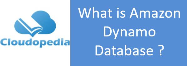 Definition of Amazon Dynamo Database