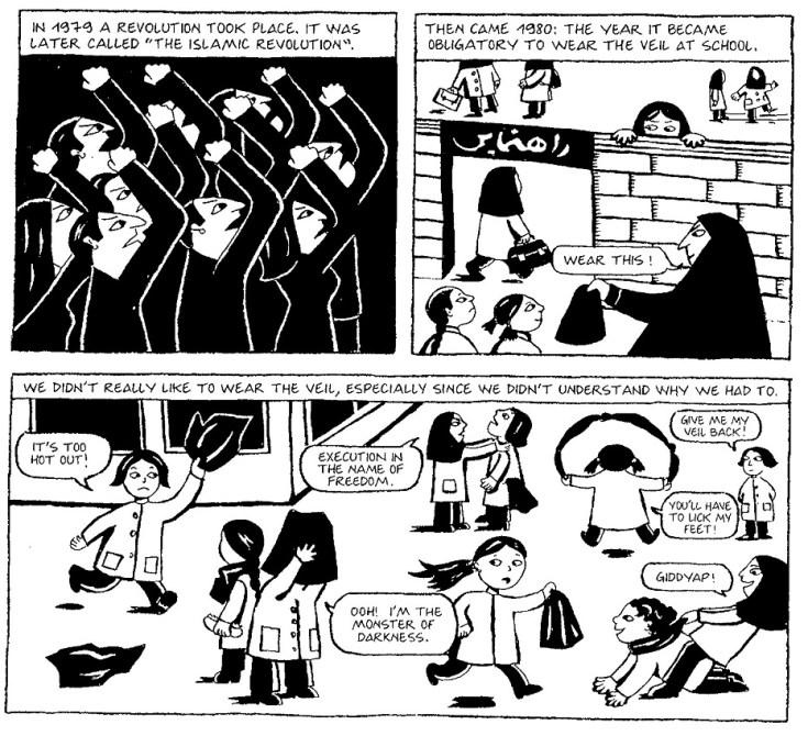 Persepolis Cloudscape Comics